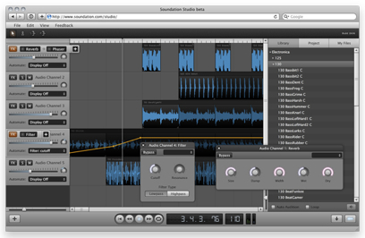 Soundation Studio - Beta